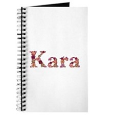 Kara Pink Flowers Journal