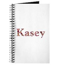 Kasey Pink Flowers Journal