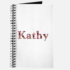 Kathy Pink Flowers Journal