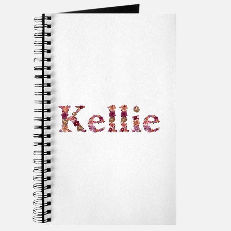 Kellie Pink Flowers Journal