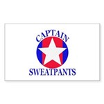 Captain Sweatpants Sticker
