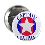 "Captain Sweatpants 2.25"" Button"