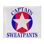 Captain Sweatpants Throw Blanket