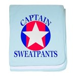 Captain Sweatpants baby blanket