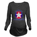 Captain Sweatpants Long Sleeve Maternity T-Shirt