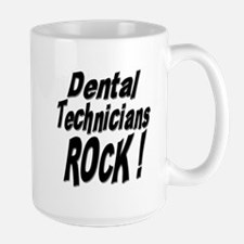 Dental Techs Rock ! Mug