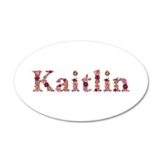 Kaitlin Pink Flowers Wall Decal