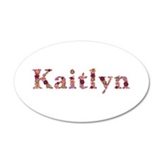 Kaitlyn Pink Flowers Wall Decal