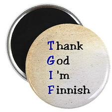 Thank God I'm Finnish Magnet