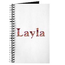 Layla Pink Flowers Journal