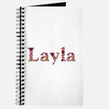 Layla Pink Flowers Journal
