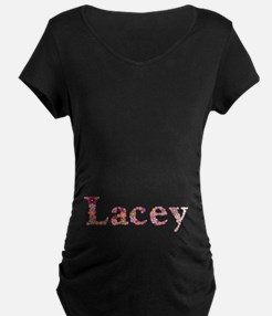 Lacey Pink Flowers T-Shirt