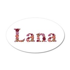 Lana Pink Flowers Wall Decal