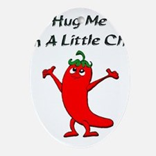 Hug Me Oval Ornament