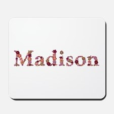 Madison Pink Flowers Mousepad