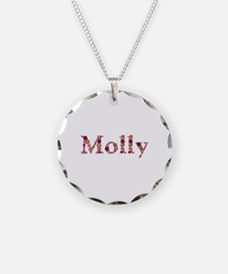 Molly Pink Flowers Necklace