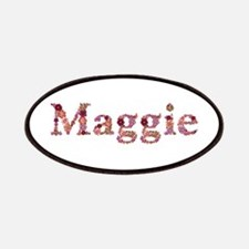 Maggie Pink Flowers Patch