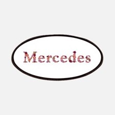 Mercedes Pink Flowers Patch