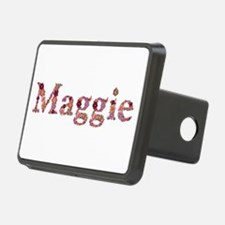 Maggie Pink Flowers Hitch Cover