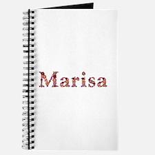 Marisa Pink Flowers Journal