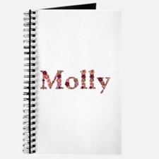 Molly Pink Flowers Journal