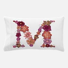 M Pink Flowers Pillow Case