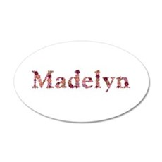 Madelyn Pink Flowers Wall Decal