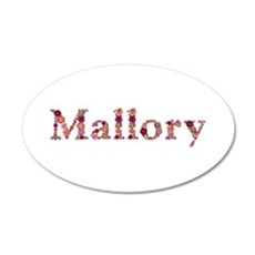 Mallory Pink Flowers Wall Decal