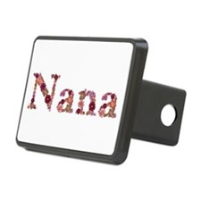 Nana Pink Flowers Hitch Cover