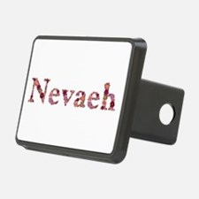 Nevaeh Pink Flowers Hitch Cover