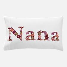 Nana Pink Flowers Pillow Case