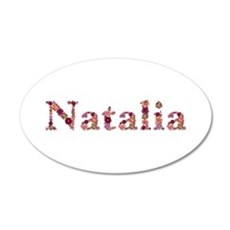 Natalia Pink Flowers Wall Decal