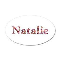 Natalie Pink Flowers Wall Decal