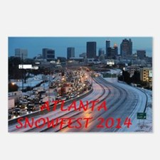 Atlanta Snowfest 2014 Postcards (Package of 8)