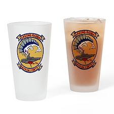 VP 40 Fighting Marlins Drinking Glass