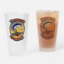 VP 40 Fighting Marlins Drinking Glass
