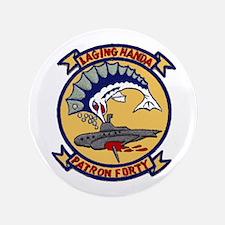 "VP 40 Fighting Marlins 3.5"" Button"
