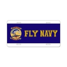 VP 40 Fighting Marlins Aluminum License Plate