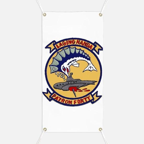 VP 40 Fighting Marlins Banner