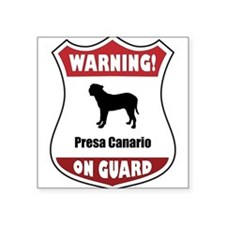 Presa On Guard Rectangle Sticker