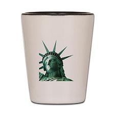 Lady Liberty Shot Glass