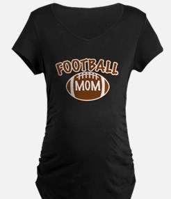 Football Mom Maternity T-Shirt