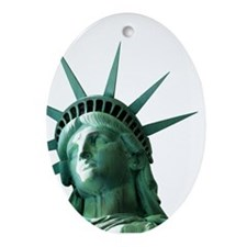 Lady Liberty Ornament (Oval)