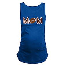 Football Mom Maternity Tank Top