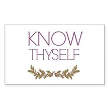 Know thyself Decal