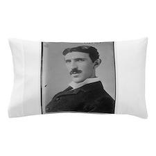 Nikola Tesla Image Pillow Case