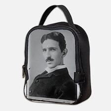 Nikola Tesla Image Neoprene Lunch Bag