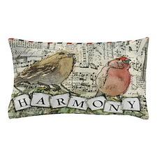 Harmony Birds Pillow Case