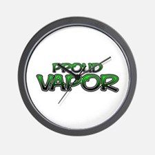 Proud Vapor Wall Clock