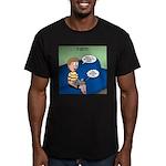 Timmys Bestest Buddy Men's Fitted T-Shirt (dark)